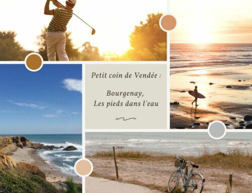 Petit coin de Vendée : Bourgenay, les pieds dans l'eau
